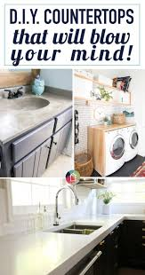 These DIY Countertops will blow your mind!