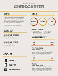 Infographic Resume Template Templates Examples To Download Use Now