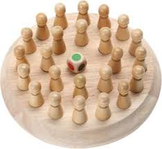 R H lifestyle <b>Wooden Color Memory</b> Chess Intelligence Game Kids ...