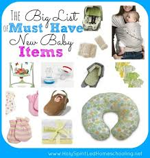 list of items needed for baby the big list of must have new baby items see the items needed for