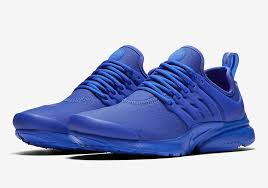 nike s leathery prestos release in paramount blue