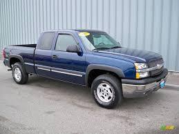 Silverado 2003 chevy silverado extended cab : 2003 Dark Blue Metallic Chevrolet Silverado 1500 Z71 Extended Cab ...