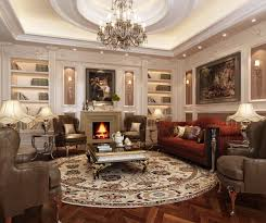elegant furniture and lighting. Decorative Fireplace For Elegant Living Room Design With Unique Lighting Above Table Furniture And Creative Wall Shelf Ideas Also Using Contemporary Chairs L