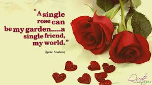 Love Quote Of The Day Amazing Rose Day Messages Wishes And Greeting Cards With Love Quotes