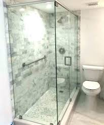 glass shower door cost charming of doors estimated how much do