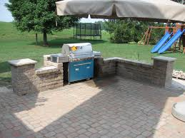 Paver Patio Ideas Designs Images About Outdoor Kitchen And Backyard Patio Ideas With