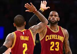 lebron kyrie. the cleveland cavaliers are rolling. they\u0027ve gone 30-4 in eastern conference playoffs over past 3 seasons and just blew out toronto raptors for lebron kyrie