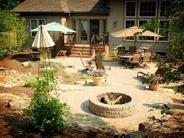 How To Create A Fieldstone And Sand Fire Pit Area  Howtos  DIYBackyard Fire Pit Area