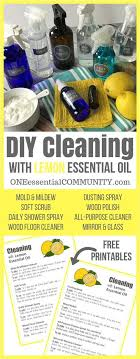 8 super simple and effective diy recipes for cleaning with lemon essential oil