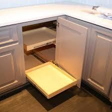 Blind Corner Cabinet Pull Out Shelves Kitchen Cabinets Solution For Blind Corner Cabinet YouTube DIY 37