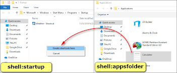 add to startup windows 10 startup folder location add a program to startup in