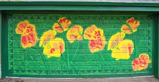 outdoor murals dress up sheds garages