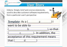 User Story Requirements Template Mobile Aps Agile Mentoring Review Ppt Video Online Download