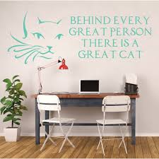cat wall decals cat face cat lover gifts kids playroom vinyl wall decor