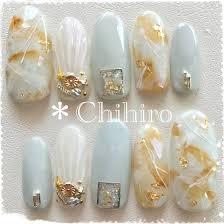 夏旅行海パーティー大理石 Chihirのネイルデザインno3234124