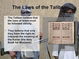 the laws of the taliban