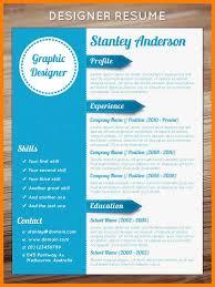 Graphic Design Resume Template Magnificent 60 Graphic Design Cv Template Download Trinitytraining