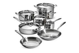 Tramontina 12 Piece Tri Ply Clad Cookware Set