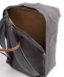 Fjällräven Kånken No. 2 Laptop Backpack 15″ organic cotton, recycled  polyester dark grey - 23569-046