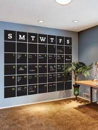 Office wall ideas Ivchic Chalkboard Calendar Wall Decal Extra Large Stay Organized With The Help Of Our Extra Large Pinterest 323 Best Home Office Ideas Images In 2019 Desk Ideas Office Ideas