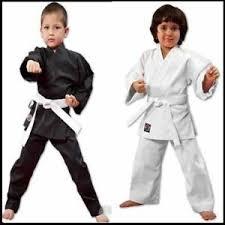 Karate Uniform Size Chart Details About New Proforce Lightweight 6oz Karate Uniform Gi White Or Black With White Belt