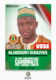 Alhassan Suhuyini Ndc Election Campaign Poster Design By 7graffix