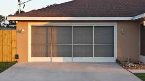 garage door screensDoor Design  Jobar Garage Door Screen Installation Motorized