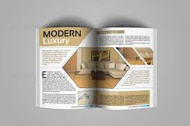 Indesign Magazine Templates Creative Indesign Magazine Template 50 Pages