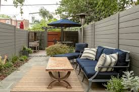 Stunning Row House With Backyard Retreat Home Backyard