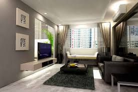 Small Modern Living Room Design Painting Simple Decorating