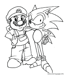 Coloring Pages Sonic Printable Epic Free The Coloring Pages Sonic
