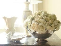 Romantic Living Room Decorating White Flower Arrangement For Romantic Living Room Ideawhite Flower