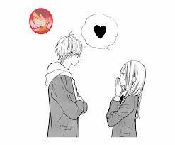 Cute Couple Png Sad Couple Png Clipart Cute Anime Couple Transparent