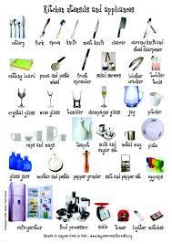 kitchen items list – dandk organizer