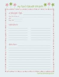 book template doc recipe book template blank cards editable cook doc printable pages