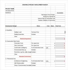 19 Free House Building Budget Templates Ms Office