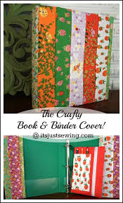 best diy crafts ideas how to make a fabric binder cover create this cute craft book and binder cover