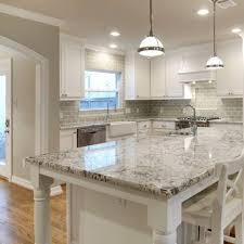 Kitchen Backsplash With Granite Countertops Gorgeous Current Obsessions 48 Heavenly Kitchens With White Granite
