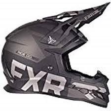 Fxr Boost Evo Snowmobile Helmet Black Ops Matte Xl