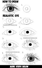 How To Draw Eyes Step By Step How To Draw Realistic Eyes With Step By Step Drawing