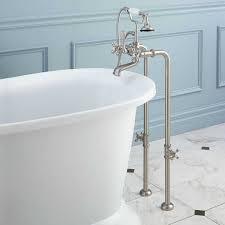 5 5 foot bathtub fresh freestanding telephone tub faucet supplies valves cross handles5 5 foot bathtub