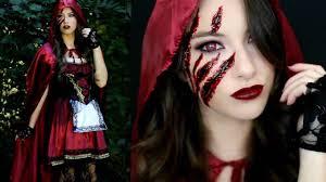 little red riding hood makeup tutorial costume