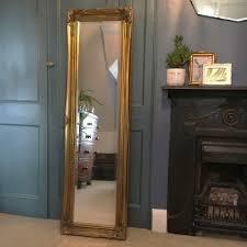 classic full length gold gilt framed mirror