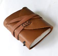 picture of diy leather journal