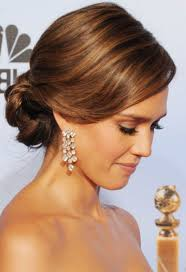 Wedding Hairstyles Ideas Side Ponytail Formal Straight Low Updo