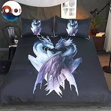 sleepwish yin and yang dragons black by