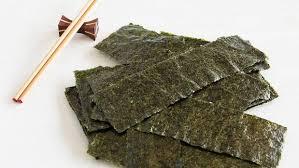 nori sheet lunchtime sushi seaweed nutritionally dead stuff co nz