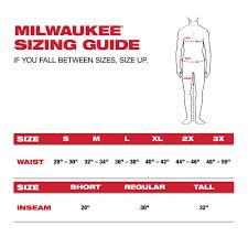 Milwaukee Mens Gridiron X Large Black Zip To Thigh Bib Short Overall