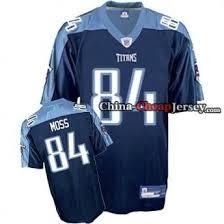 Jersey 84 Titans navy from China Moss Men's Cheap Randy