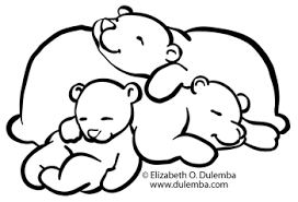 Small Picture dulemba Coloring Page Tuesday Sleeping Bears